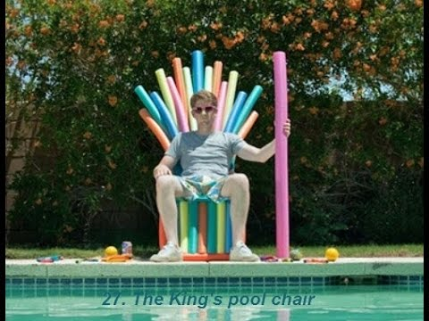 54 Things to make with pool noodles YouTube