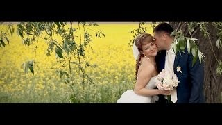 красивый свадебный клип Валентины и Романа  (г.Брест)