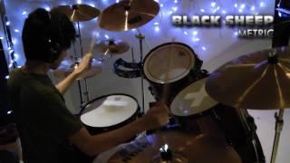 Black Sheep by Metric   Drum Cover