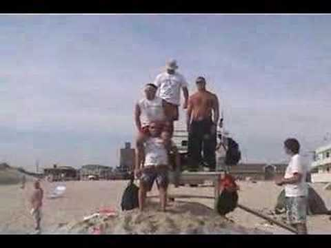 Atlantic Beach Lifeguard on Duty 2003