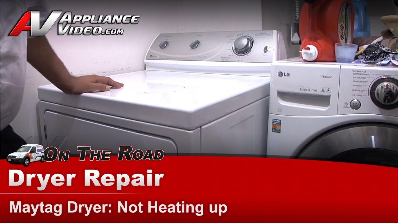 Dryer Diagnostic  Not Heating up  Repair & Diagnostic