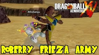 Dragon Ball Xenoverse Randomized Battles: Roberry The New Leader of the Frieza Army!