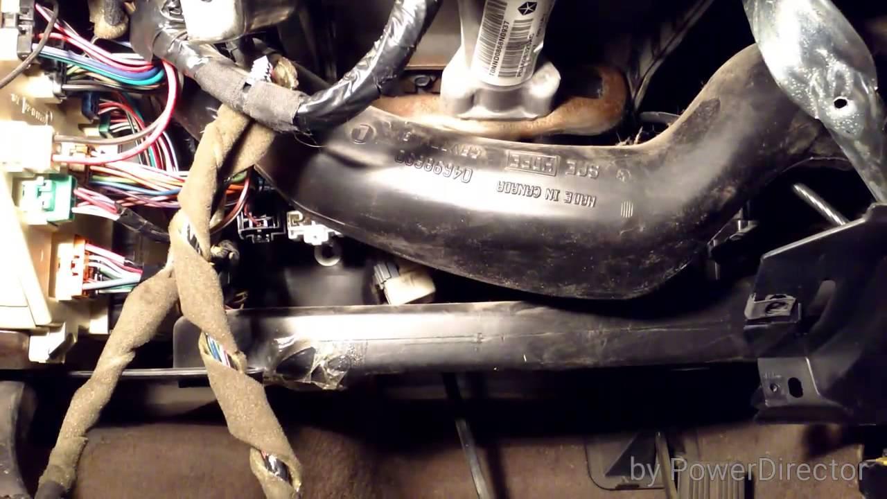 medium resolution of heater core replacement 98 dodge intrepid 3 2