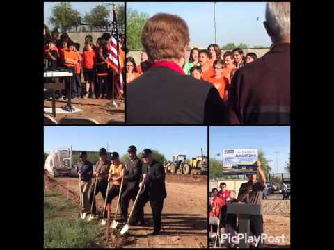 Leading Edge Academy Maricopa Ground Breaking - 03-15-16