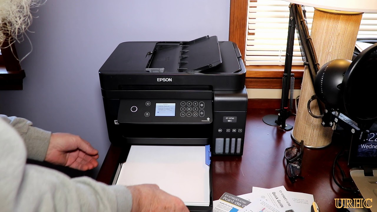 I Give Up Buying HP Ink Cartridges  Setting Up An Epson Workforce ET-3750  Ink Tank Printer