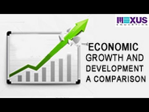 Economic Growth and Development - A Comparison