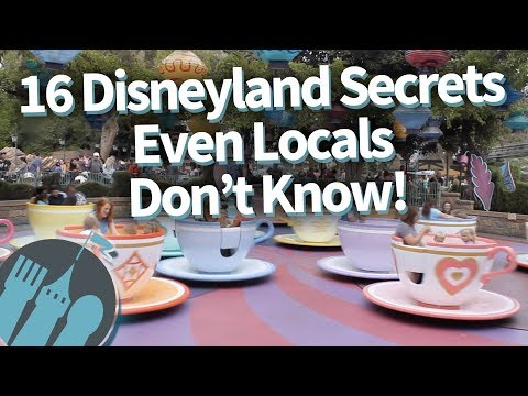 16 Disneyland Secrets Even Locals Don't Know!