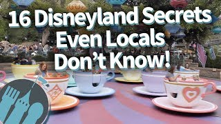 13 Disneyland Secrets You May Not Know About