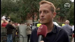 Demo am 18.9.2016 im Südpark Halle-Neustadt, Sven Liebich,Donatus Schmidt,TV Halle