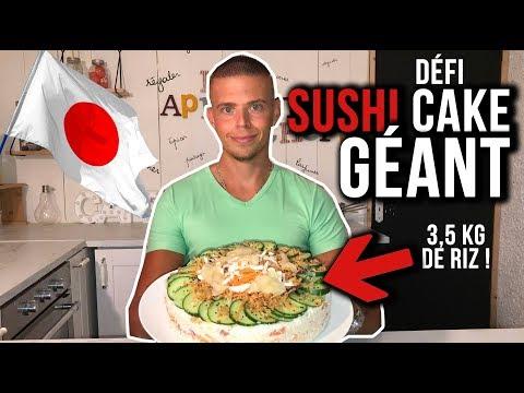 sushi-cake-gÉant-!!-(-3.5-kg-de-riz)-!-(#1-food-tour-bordeaux)