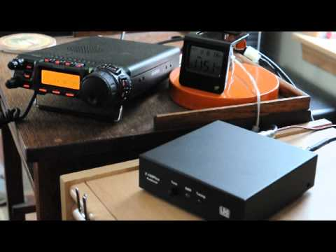 Yaesu FT-857D and LDG Z100plus tuner - Slovenia contact