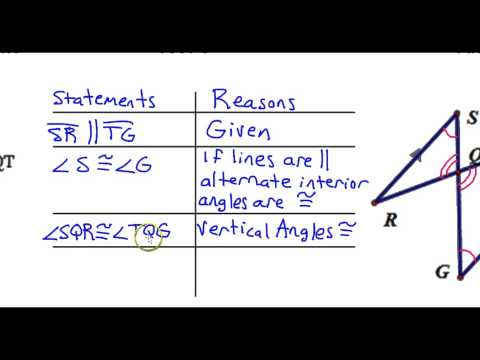 Day 12   Test C   #7 And #8   Proving Triangles Similar Statements, Reasons