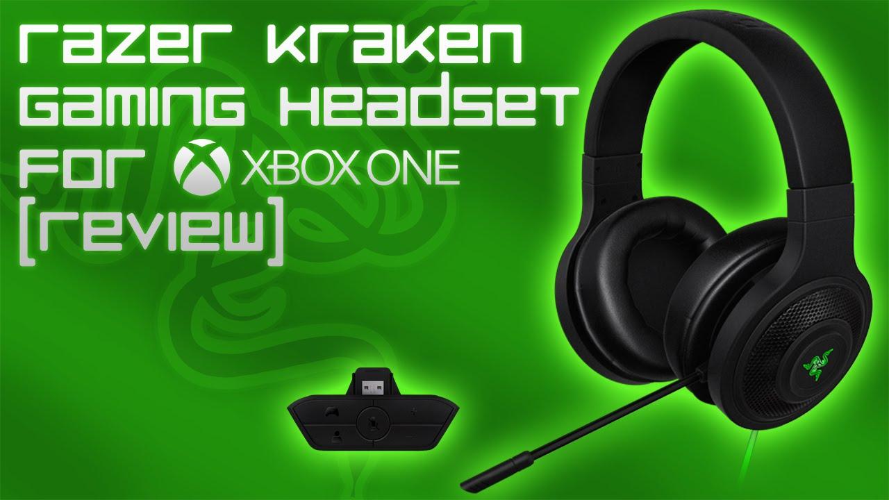 razer kraken gaming headset for xbox one review mic test youtube. Black Bedroom Furniture Sets. Home Design Ideas