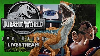 ORDERLY CHAOS THEORY - Jurassic World: Evolution (Steam) - Livestream