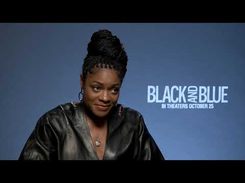 Wild Wayne - Wild Wayne interviews Lead Actress Naomi Harris #BlackAndBlueMovie