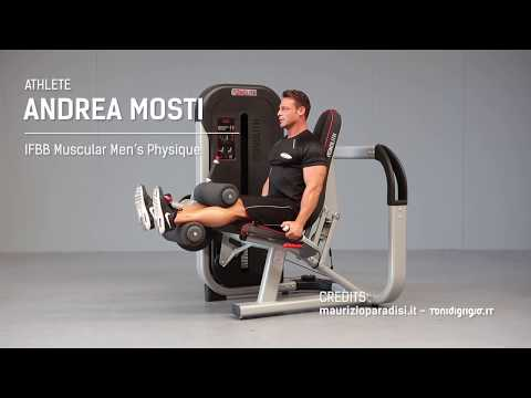 1MTH083 – Seated leg curling