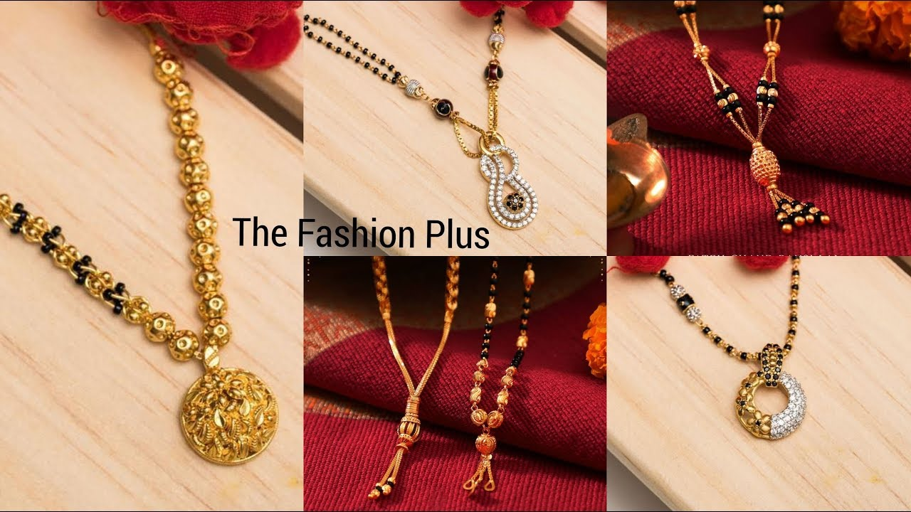 Latest Gold Mangalsutra Designs 2019 Youtube,Plus Size Fashion Designers