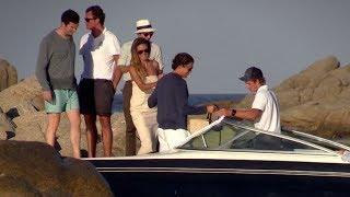 EXCLUSIVE - Heidi Klum and her boyfriend Vito Schnabel in Saint Tropez