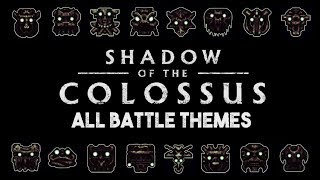 Shadow of the Colossus All Epic Battle Theme Songs Original OST