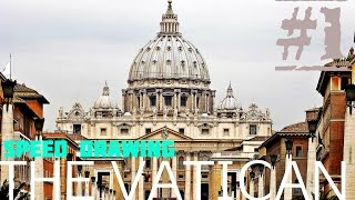 Speed Drawing :: The Vatican :: E1