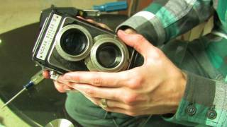 Kodak Reflex II Viewfinder Disassembly and Cleaning