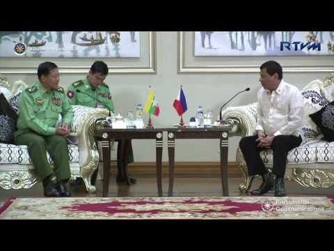 High Tea with Commander-in-Chief Senior General Min Aung Hlaing 3/20/2017