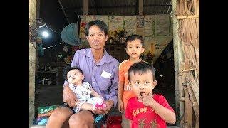 Thảm cảnh vợ mất, chồng bệnh tật nuôi 3 đứa con nhỏ trong căn nhà xiêu vẹo đã có lối thoát!