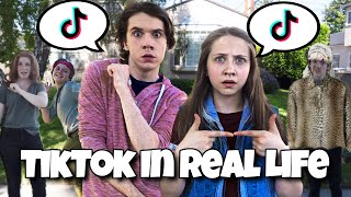 Tik Tok In Real Life! 😱 (It's A Fight)