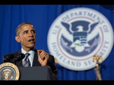 President Obama Speaks on Funding for the Department of Homeland Security
