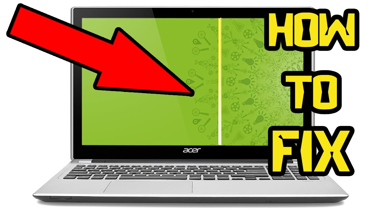 How to 100% Fix Vertical Lines Laptop Screen