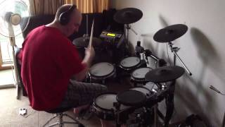 Teddy Pendergrass - Love T.K.O. (Roland TD-12 Drum Cover)