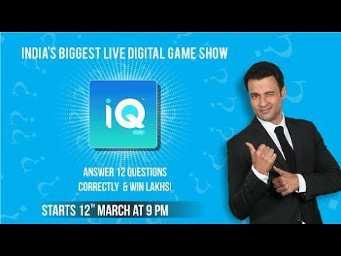 iq live iq live app 2018 contest how to play iq live live quiz game show iq trivia