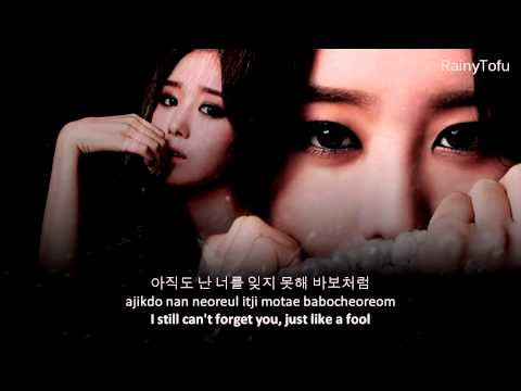Song Ji Eun - False hope ~ lyrics on screen (KOR/ROM/ENG)