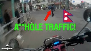 Riding Asiawing Crossfire XZ250RR | Kathmandu, Nepal | Motovlog #8
