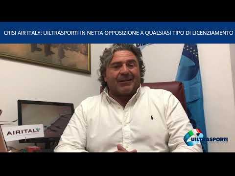 CRISI AIR ITALY: UILTRASPORTI IN NETTA OPPOSIZIONE A QUALSIASI TIPO DI LICENZIAMENTO