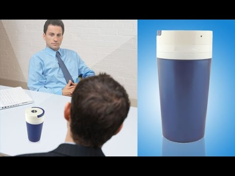 WISEUP Portable Hidden Camera Cup Motion Detective Video Recorder with Audio Recording Function