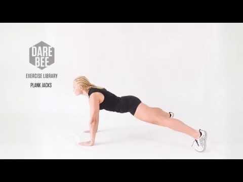 Exercise Library: Plank Jacks