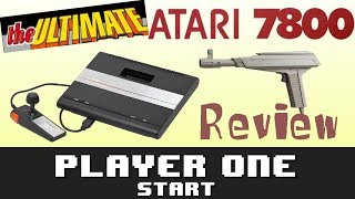 The Ultimate Atari 7800 Review - Player One Start