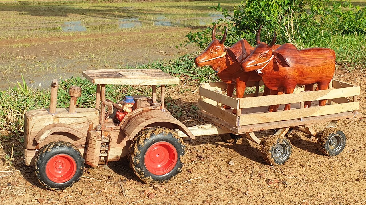 Top 10 Cow Bullock Cart and Horse Cart - Amazing Woodworking Ideas 2021