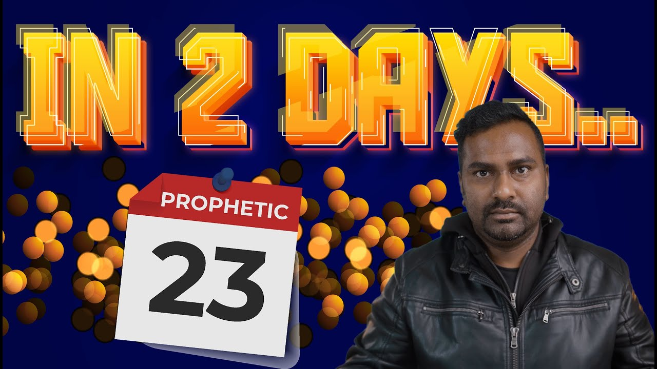Urgent Prophetic Word that will fulfill in next 2 days..Get Ready!