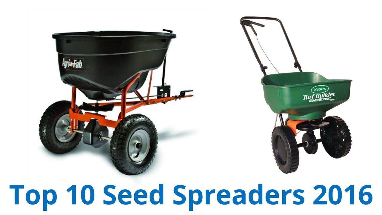 10 best seed spreaders 2016 youtube