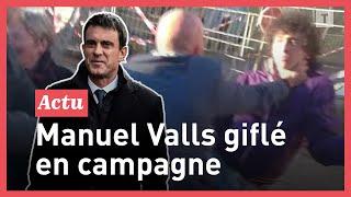 فيديو: شاب يصفع رئيس الحكومة الفرنسية السابق مانويل فالس  - فرانس 24