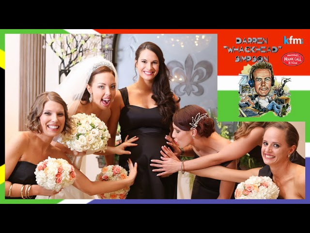 Whackhead Simpson - Pregnant Bridesmaid Surprise