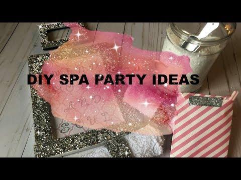 DIY Glam Spa