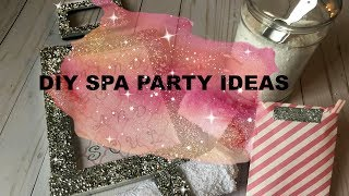 DIY Glam Spa Party Ideas | Using Dollar Tree & thrifted items