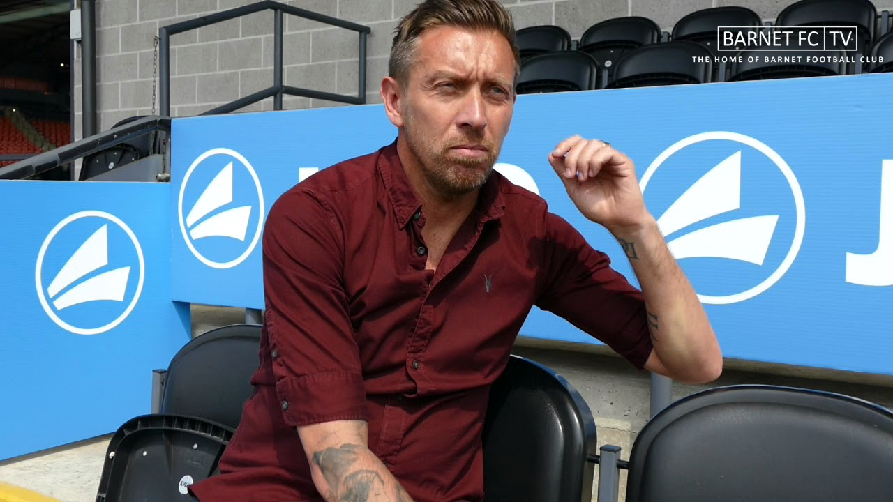 Interview | Darren Currie named new Barnet FC Assistant Manager - YouTube