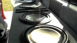 JL Audio 10w1 Bass I Love You