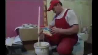 Как клеить виниловые обои(Обои — наиболее популярный отделочный материал для внутренних стен и иногда потолков, обычно выпускается..., 2013-01-28T15:40:17.000Z)