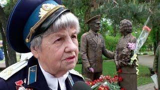 В Киеве открыли памятник ветеранам войны «Люди Победы».