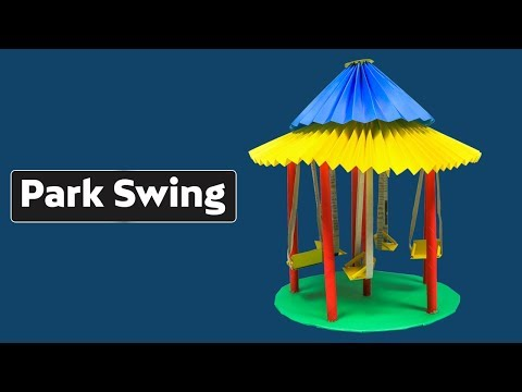 DIY: How to Make a Park Swing Out of Paper!! (Very Easy)